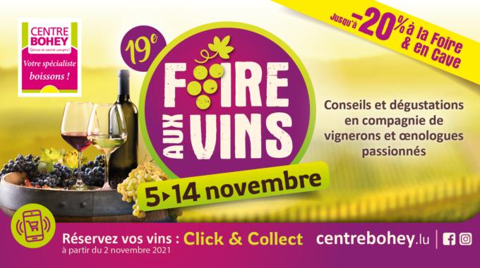 Foire Aux Vins Du Centre Bohey